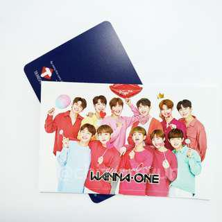 Kpop Wanna One Custom Train Bus Card Reloadable