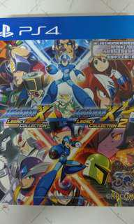 PS4 megaman x collection 1+2