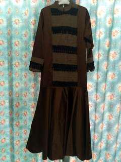 Dress/gaun muslim mermaid