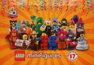 14x Series 18 Inc Policeman Lego Minifigure 71021 new sealed