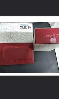 全新 Samsung Level Box Slim防水充電藍牙喇叭 $280  (只得紅色)