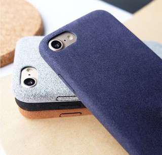 Suede Case - For IPhone
