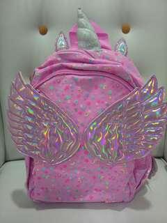 Smiggle Unicorn Fly away backpack jr
