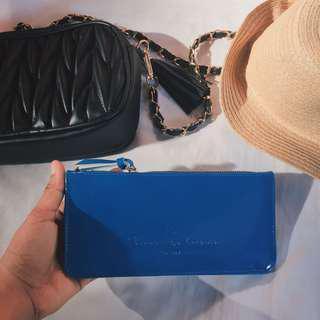 NEW Blue Long Wallet