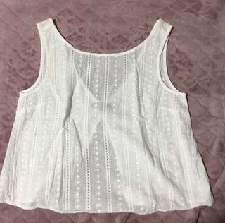 Brandy Melville Open Back top