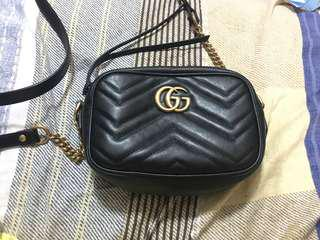 Gucci GG Marmont Monogram Leather Bag