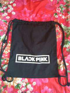 blackpink drawstring bag