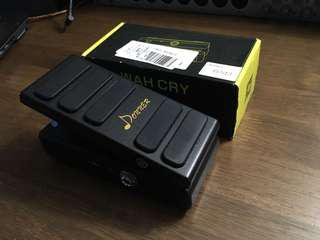 Donner Wah Cry 2 in 1 Mini Guitar Wah Effect/Volume Pedal