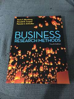 Business research methods textbooks carousell singapore business research methods fourth edition fandeluxe Image collections
