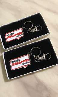 Special NDP 18 keychain