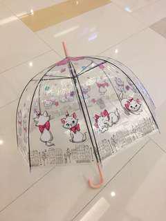 全新 7-11 正版 marie 透明直身雨傘 遮