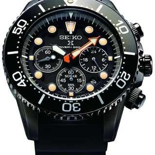 Seiko watch SSC673P1 ssc673-P1 黑水鬼 精工 日本製 限量 手錶