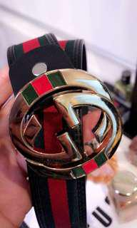 Replica gucci belt used once