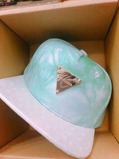 🚚 Hater snapback Tiffany綠 渲染帽