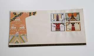 1987年中國古代服飾首日封