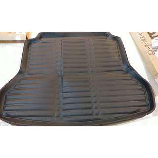 (Ready Stock) Hyundai Elantra 2016-2018 Black Boot Mat PVC type Water Resistant