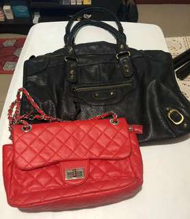 Bundle Bags: Balenciaga and Chanel