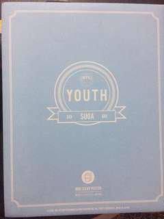 [WTS] BTS Youth Mini Clear Poster - SUGA