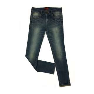 DongSsan Jeans Super Skinny Fit in Blue Spray On