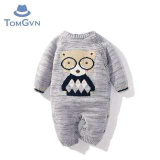Beary Baby Sleepsuit