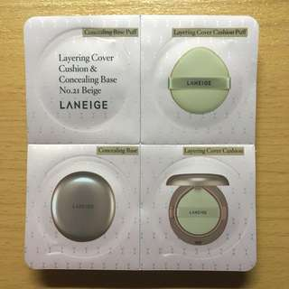 Laneige BB Cushion & Concealing Base