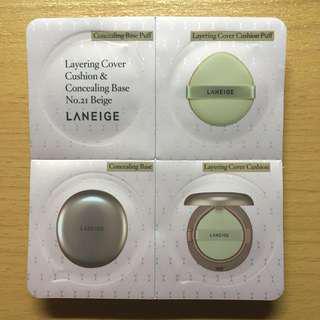Laneige BB Cushion & Concealing Base