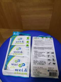 Elite Wet & Clean wet wipes - 3 packs