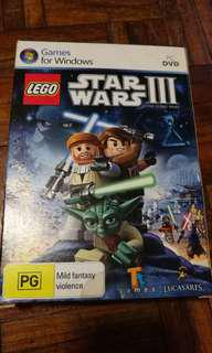 Lego starwars III PC DVD game