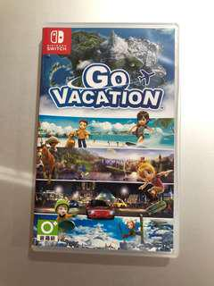 GO VACATION 歡樂假期 最新 任天堂  遊戲 SWITCH GAME