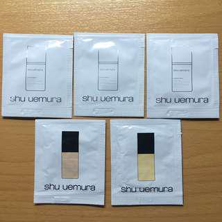 Shu Uemura Fluid Foundation 粉底液 5 pcs Set