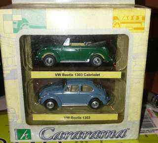 CARARAMA 1:72 diecast VW Volkswagen beetle