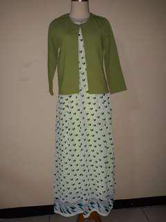 Long dress baju wanita panjang + luaran