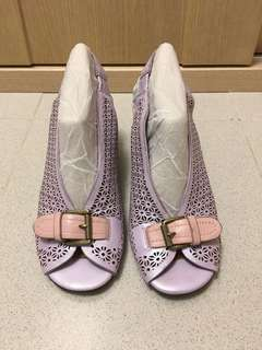 Gentle Souls Lavender mesh sandals 💐