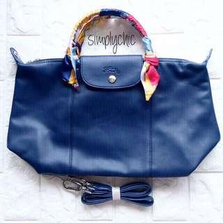 Authentic Longchamp Cuir