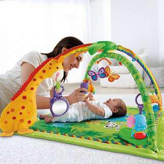 Fisher-Price K4562 Melodies and Lights Deluxe Gym Amazon's Choice