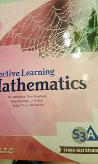 Effective Learning Mathematics s3A