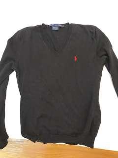 Ralph Lauren V-neck Sweater (Auth)