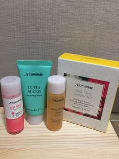 韓國Mamonde Skin Care Kit