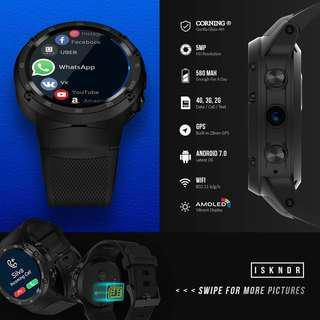 Android Smartwatch w Nano SIM Slot
