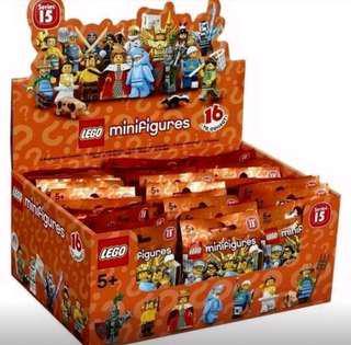 全新未開盒 Lego 71011 Minifigures Series 15 一箱60隻