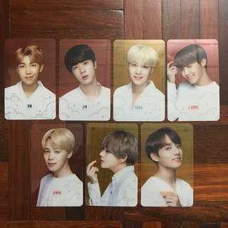 BTS Transparent Photocard