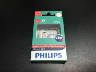 Philips Ultinon LED T20 (W21/5W) Red