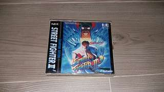 Pc engine -Street Fighter II