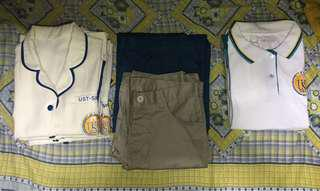 UST-SHS Type A & Type B Uniform