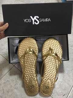 Yosi Samra woven slippers