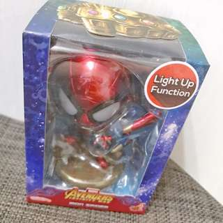 HotToys cosbabys Avengers Infinity War Iron Spider Light Up Function