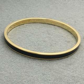 Kate Spade New York Sample Bangle 黑色配金色手鈪 直徑6.5 cm