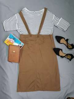 Brown Jumper Dress
