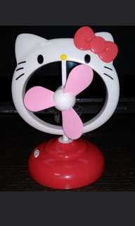 Hello Kitty風扇擺設(有USB位)