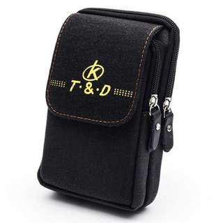 Tas Pinggang Canvas Pocket Bag